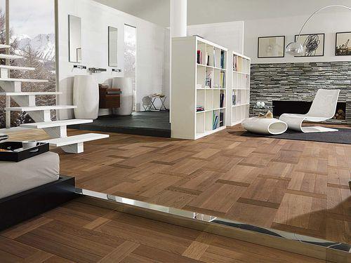 Engineered parquet flooring / oak / oiled MODERN LOUVRE SIENA Porcelanosa