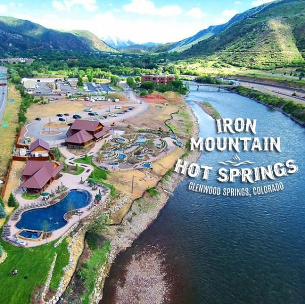 The New Iron Mountain Hot Springs in Glenwood Springs