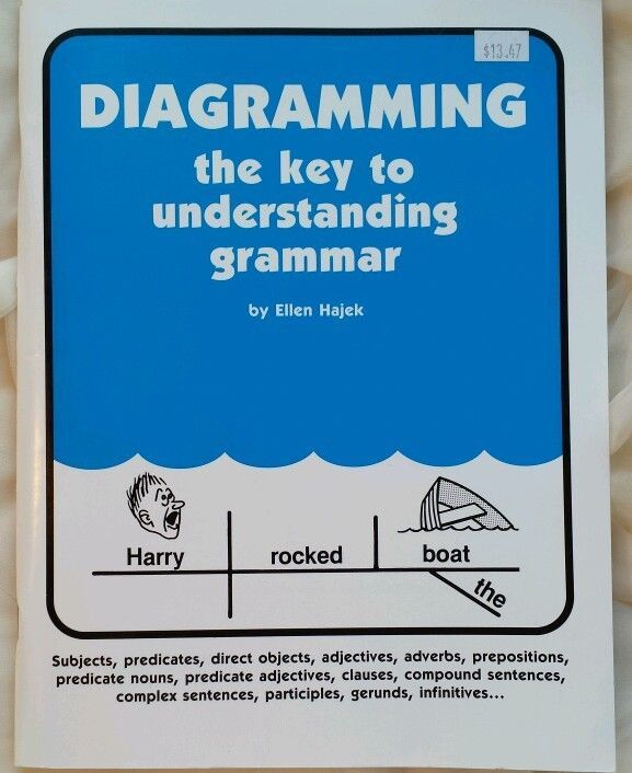 103 best diagraming images on pinterest english grammar english diagramming the key to understanding grammar 1998 paperback workbook ccuart Images