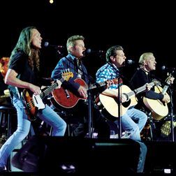 The Eagles---saw them in Louisville in 76, and again this year.  Awesome!  And Joe Walsh's performance cannot be beat!