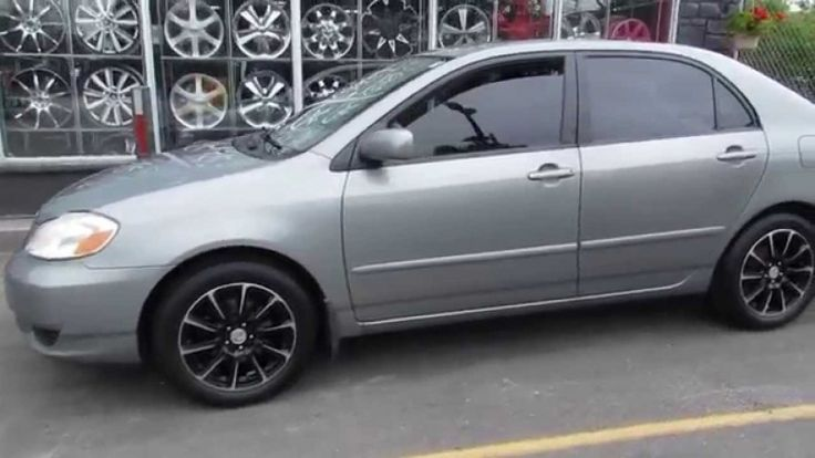 2004 Toyota Corolla Tires