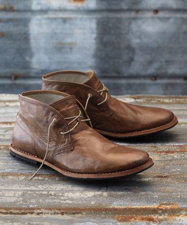 25  best ideas about Leather chukka boots on Pinterest | Mens ...