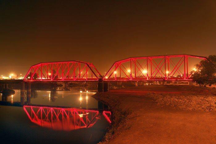 Puente Negro en Culiacan, Sinaloa, Mexico