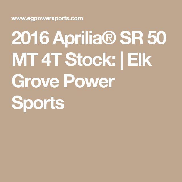 2016 Aprilia® SR 50 MT 4T Stock:   Elk Grove Power Sports