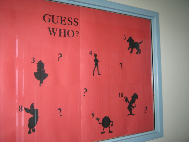 Guess Who for kids
