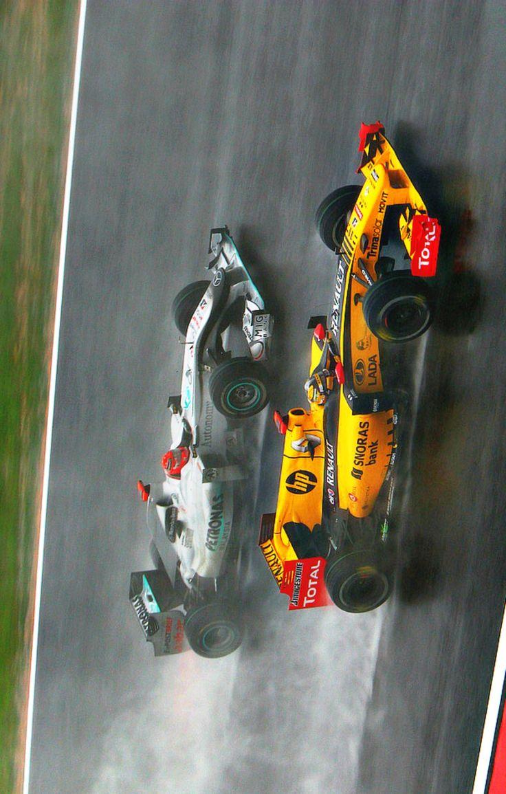 Robert Kubica vs Michael Schumacher