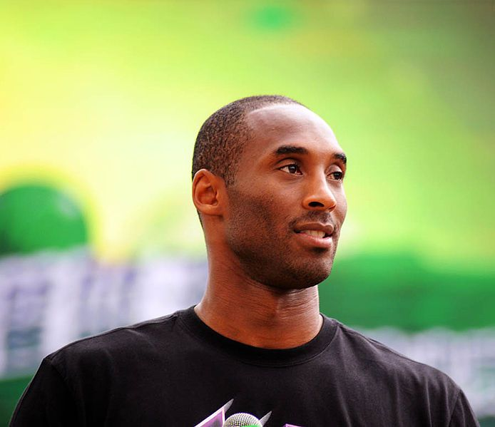Bryant at Sprite commercial event in Shanghai in 2011.