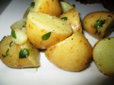 En verden af smag!: Sennepskartofler med Krydderurter