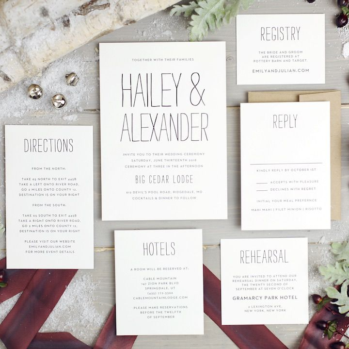 2017 Wedding Invitation Trends You Need To