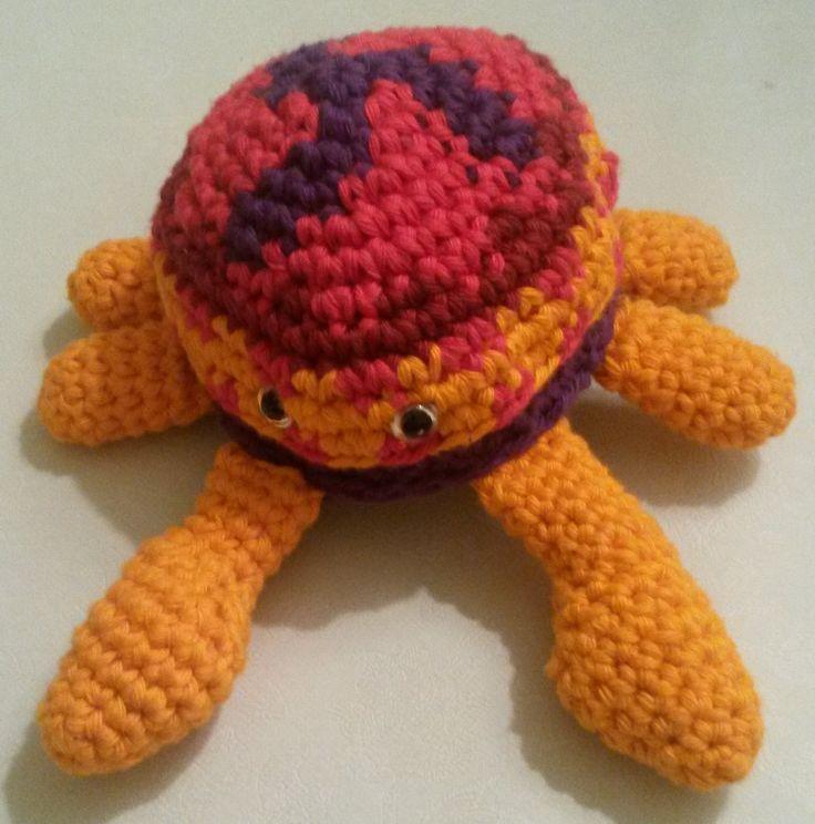 Hæklet krabbe