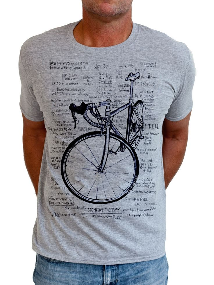 hardtofind.   Cognitive therapy men's t-shirt in grey