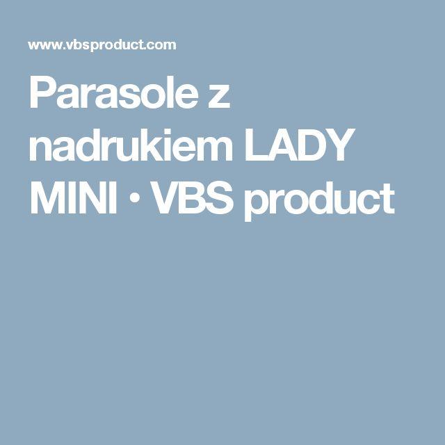 Parasole z nadrukiem LADY MINI • VBS product