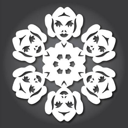 30 Free Printables of Star Wars Snowflake Templates