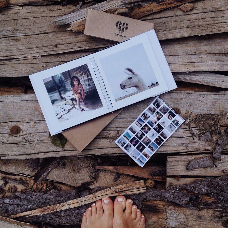 раз фотографии из инстаграм в книжке стоило сети появиться
