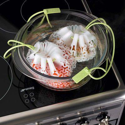 7. Sposób na owoce morza, zupę sezonową lub blanszowane warzywa. Włóż owoce morza lub warzywa do woreczka a następnie do wody. Gotuj ok. 15-20 min. Więcej znajdziesz na mykitchen.pl #kuchnia #homedecor #zdrowegotowanie