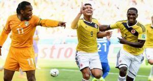 Costa de Marfil y Colombia se juegan el boleta a octavos de final. (Depor)