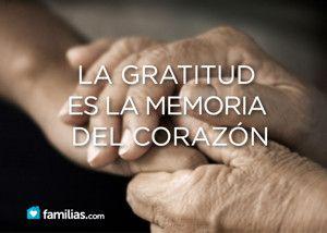 La gratitud es la chispa de la felicidad. ¿Sabes cómo encenderla en tu vida?
