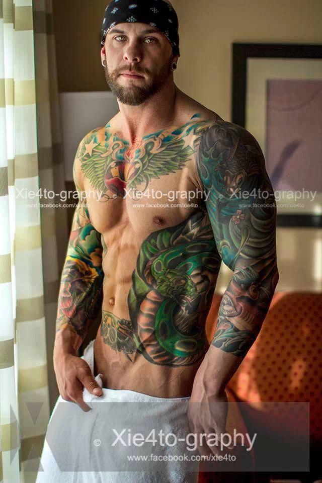 Daniel Feuerriegel Tattoo