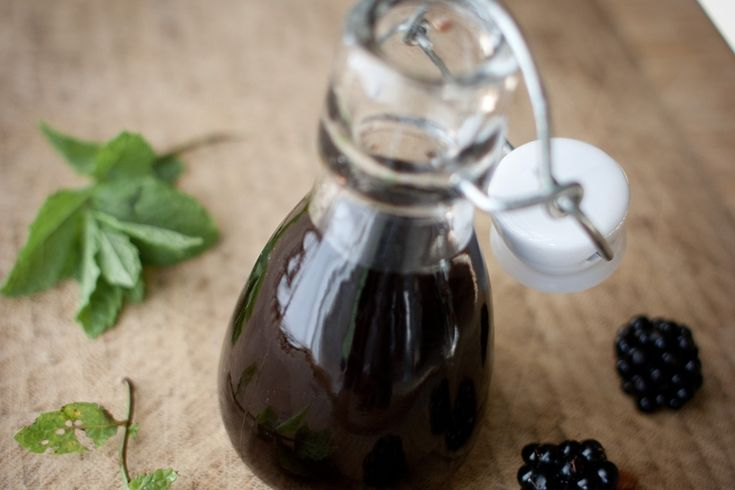Blackberry vinegar