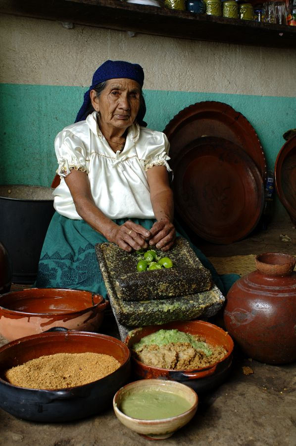 Mexican Traditional Cook, from Michoacan.