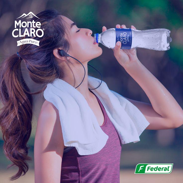 Comienza bien tu día  Si eres de las que les gusta dar un paseo por el parque antes de comenzar su día, Monte Claro es la compañía idea para que inicies bien tu día y tu rutina.  #Aguadevida