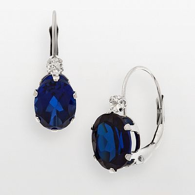 Love sapphire and diamonds