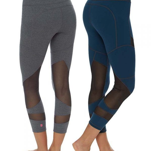 Sweaty Betty Chandrasana 7/8 Reversible Yoga Leggings