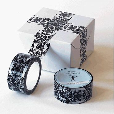 Damask tape. It is a thing, and it can be applied to ALL OF THE ACCENTS.