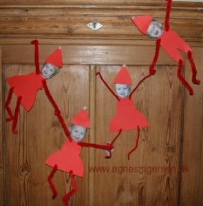 "Picture Tutorial - I call it ""Themselves the Elves"" - great kids project"