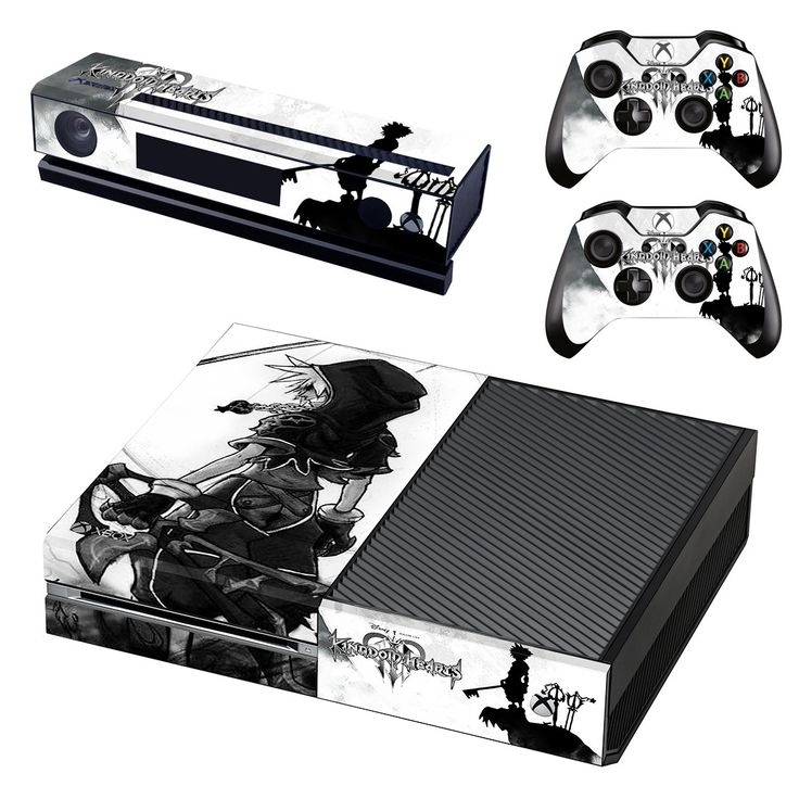 Kingdom Hearts xbox one skin decal for console and 2 controllers