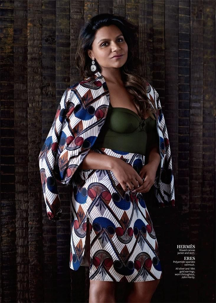 Funny That Way - Mindy Kaling (InStyle)