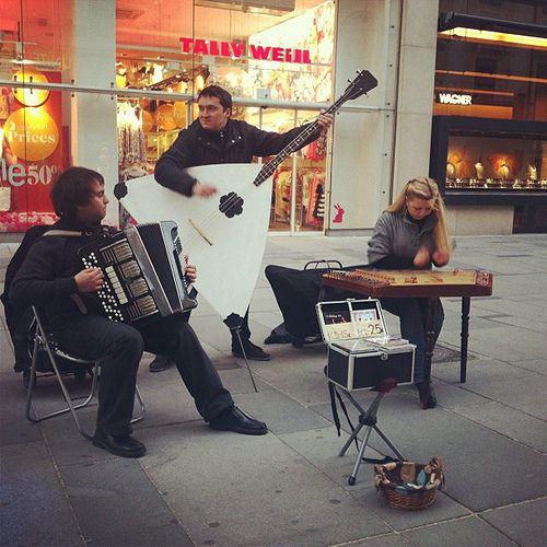 musicians vienna street