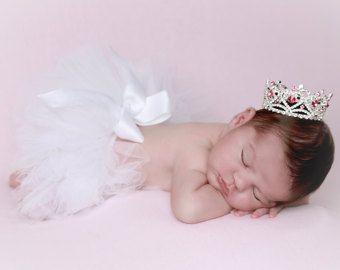 Strass Baby Goldkrone für Neugeborene oder von LilMissSweetPea