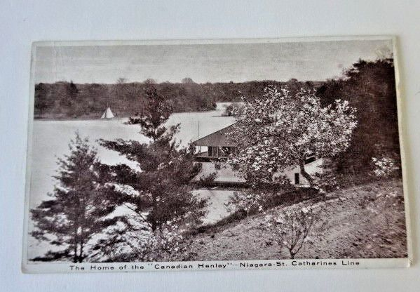 The Home Of The Canadian Henley Niagara St. Catharines Line, Vintage Postcard