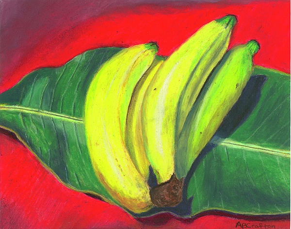 Lovely Bunch of Bananas Painting