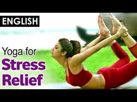 Yoga for release stress and Menstrual problem - Dhanurasana (English)- Shilpa Yoga - YouTube