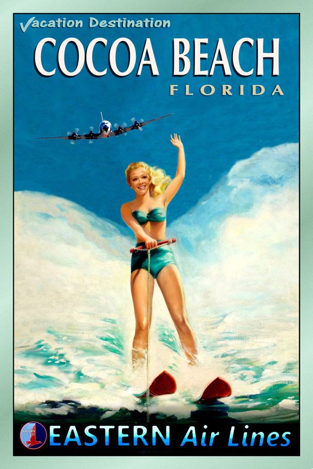 26 Best Images About Florida Home Vintage Tourism Art On