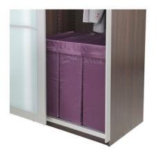 IKEA Skubb laundry boxes for closet