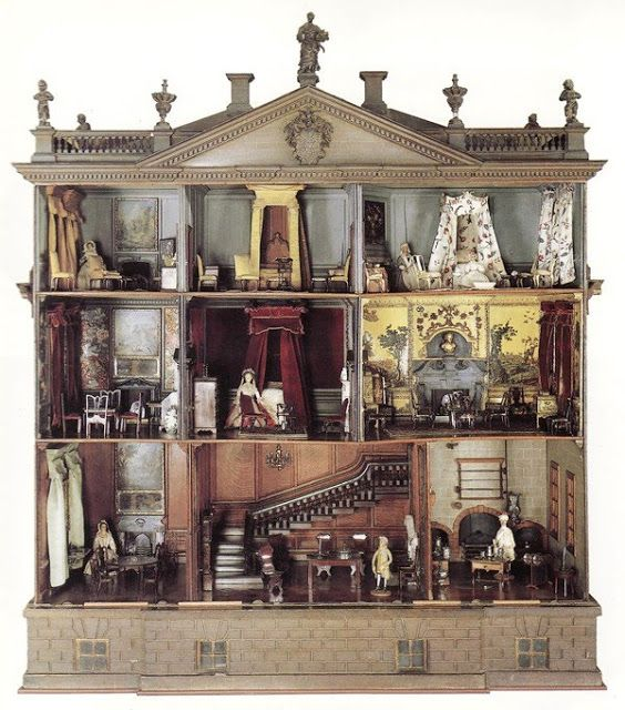 Chintz of Darkness: It's a Small World (WOW. This is beautiful, but I still prefer my family's :) )