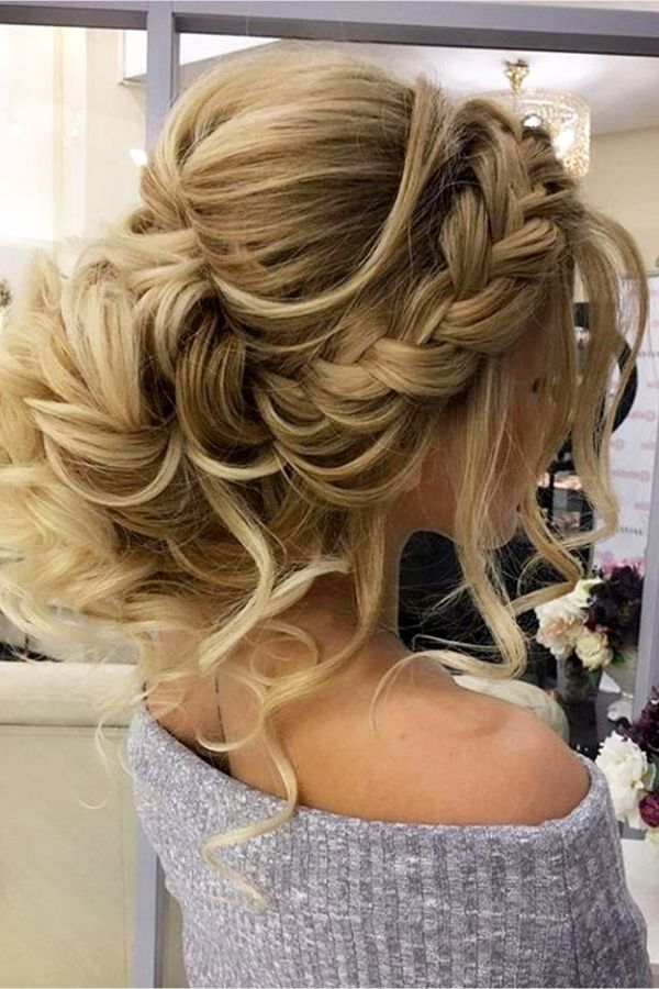 Wedding Updo Hairstyles For The Bride Or Bridesmaids New For 2018