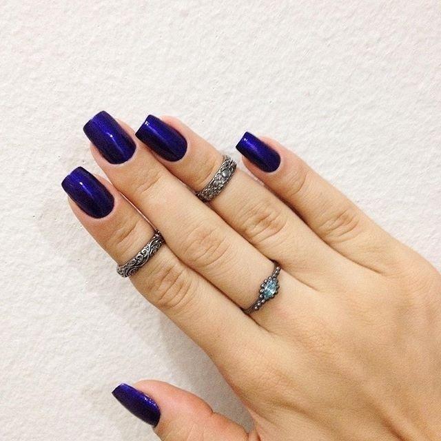 Minhas unhas : Esse metalizado ambulante - Risqué : @fabineuburger✨ #DicasDeUnhasBr