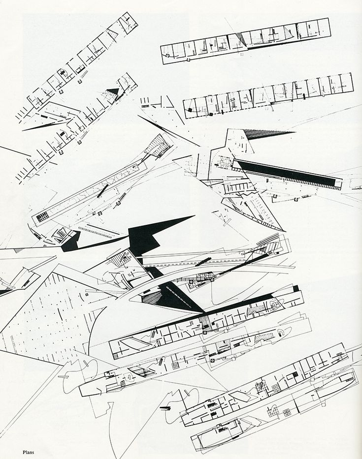 Zaha Hadid. AA Files 4 July 1983