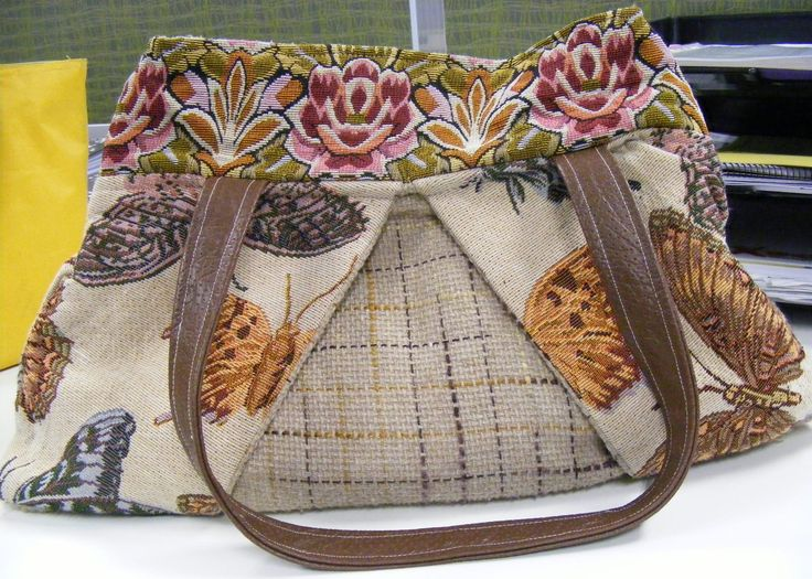 Butterfly carpetbag