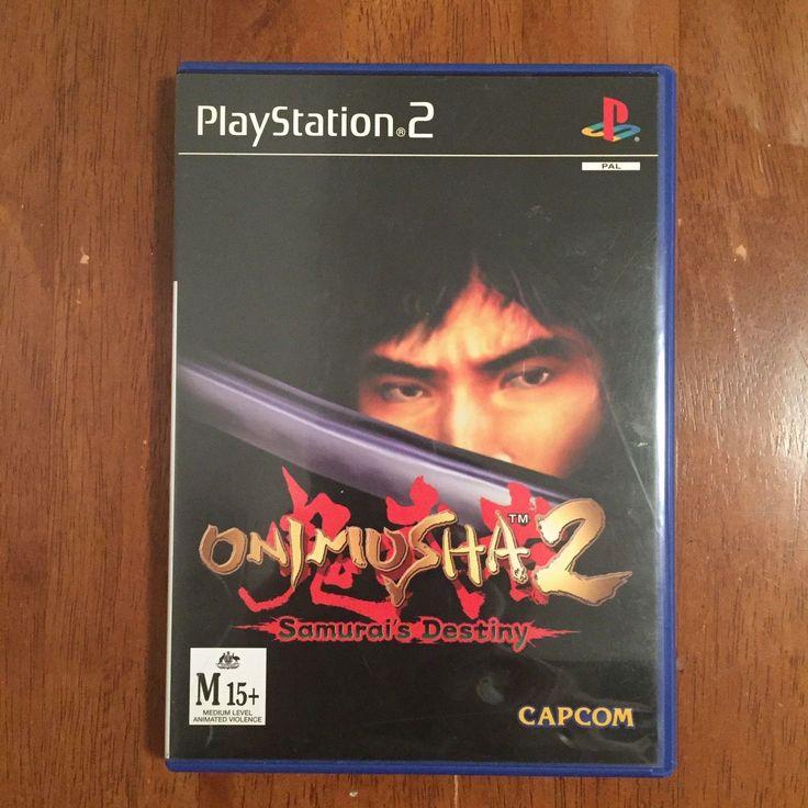 Onimusha 2 Samurai's Destiny Sony Playstation 2 PS2 Capcom PAL Game - No Booklet | eBay