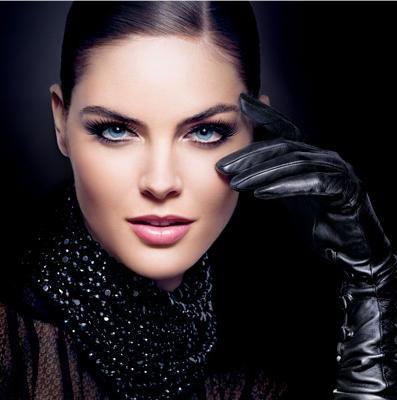 Estee-Lauder-Blacker-than-Black-promo Great look for true winter or type 4 very bold blue eyes