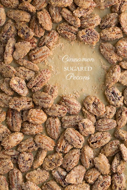 Cinnamon Sugared Pecans | Cooking Classy