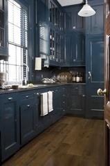 cuisine bleue grise