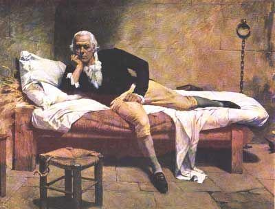 Miranda en la Carraca (1896)  Arturo Michelena - Galeria de Arte Nacional Caracas