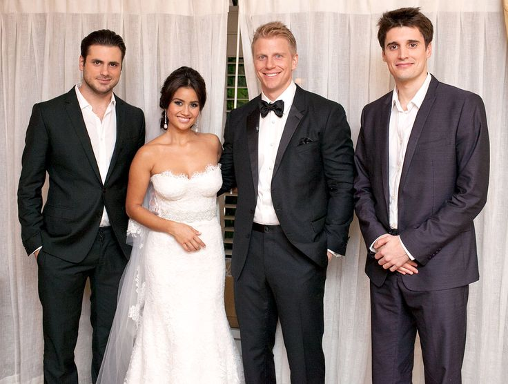 2Cellos Play As Catherine Giudici Marries Sean Lowe In Santa Barbara