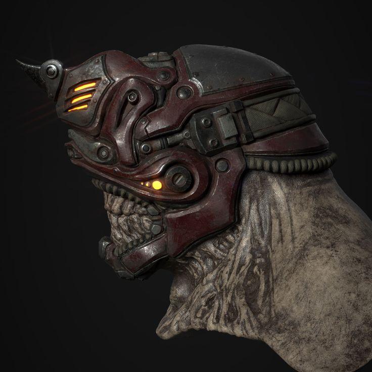 ArtStation - Renegade Helmet, Derek Carter